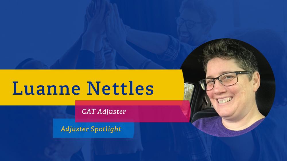CRAW PSD Templates for Web Employee Spotlight CAT Adjuster Luanne Nettles