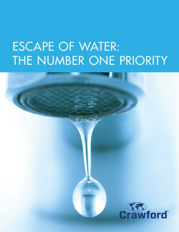 Crawford Escape Of Water The Number 1 Priority Final Rescource Image