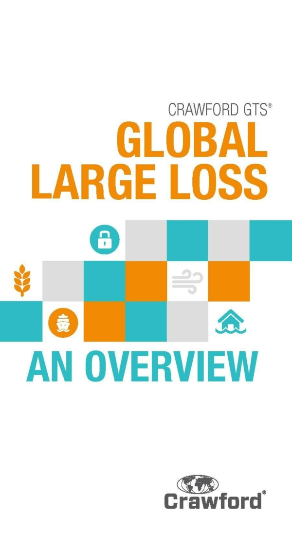 Global 2018 Large Loss Data Booklet Cover
