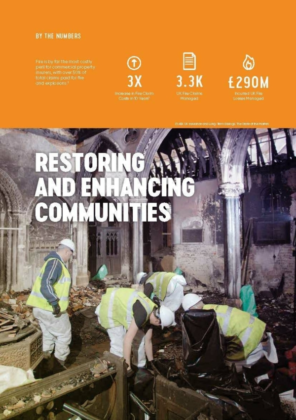 Global Case Study Fire Restoration Cover
