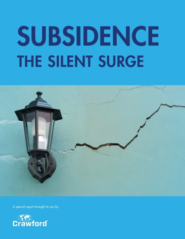 Crawford Subsidence The Silent Surge Cover