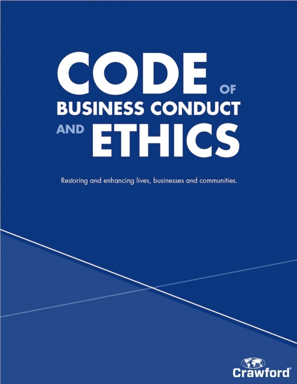Global resource code of conduct