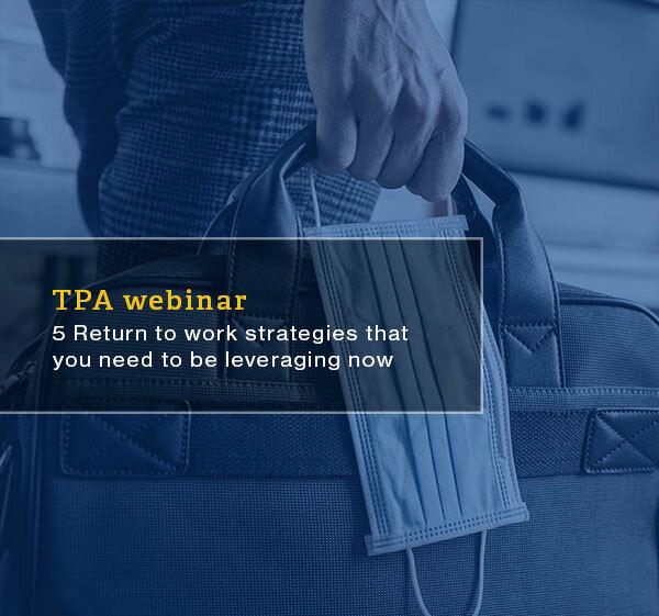 Us resource tpa return to work webinar