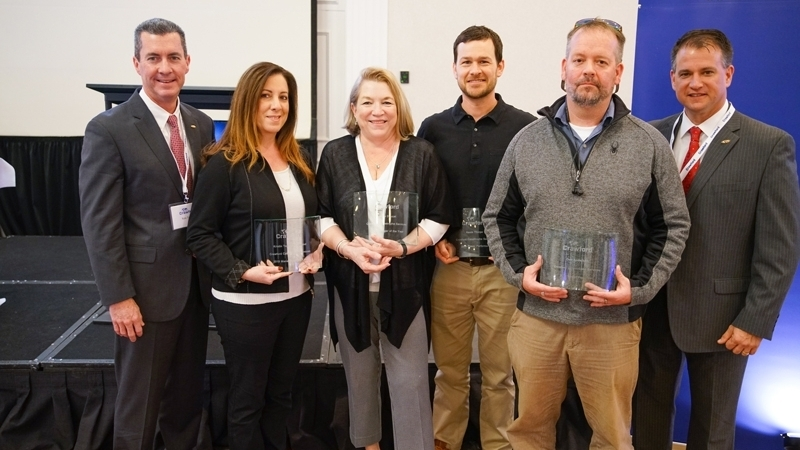 Award winners from the 2020 Catastrophe Services Conference