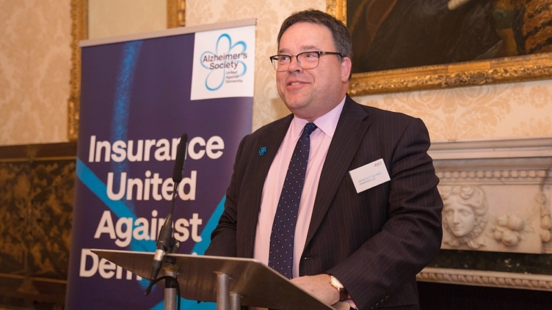 Benedict Burke speaking at 11 Downing Street, London