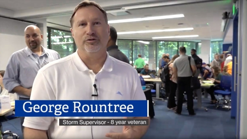 Storm Supervisor George Rountree describes why he loves his work.