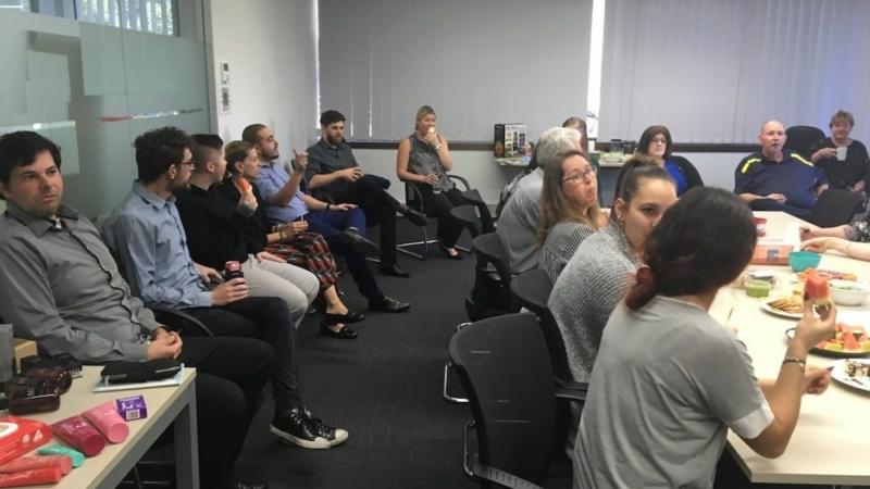 Brisbane Office gathers together for Good Mood Food week