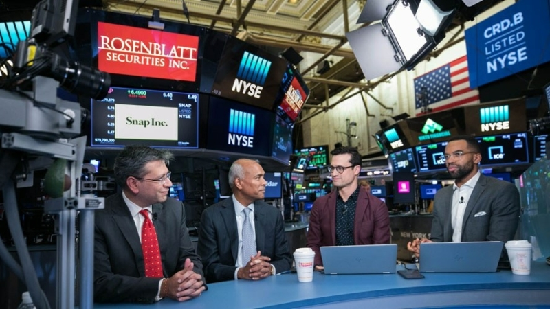 Crawford President and CEO, Harsha V. Agadi, and Global Chief Operating Officer, Rohit Verma, interview with Cheddar on the floor of the New York Stock exchange.