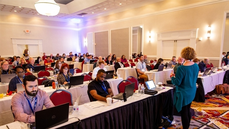 New and seasoned adjusters building their skill sets during the educational sessions at Crawford's 2019 Catastrophe Services Conference.