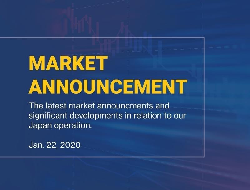 CRAW Market Announcement