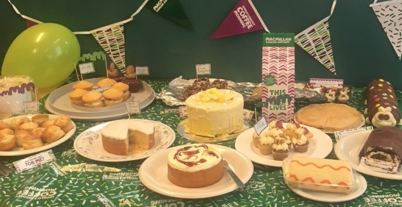 Uk Social Responsibility Macmillan Coffee Morning