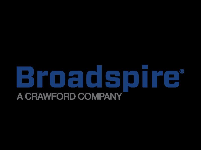 全球Broadspire标志彩色格式