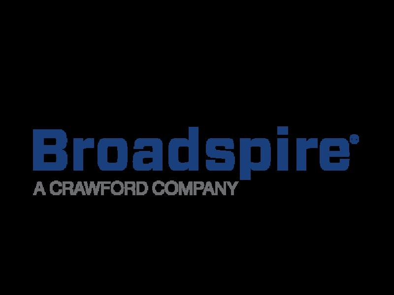 全球Broadspire标志颜色正方形灰色