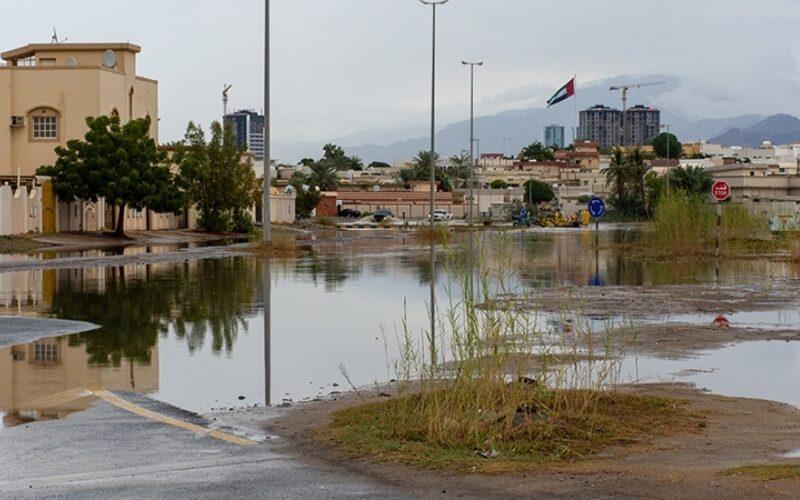 UAE heavy rain 001