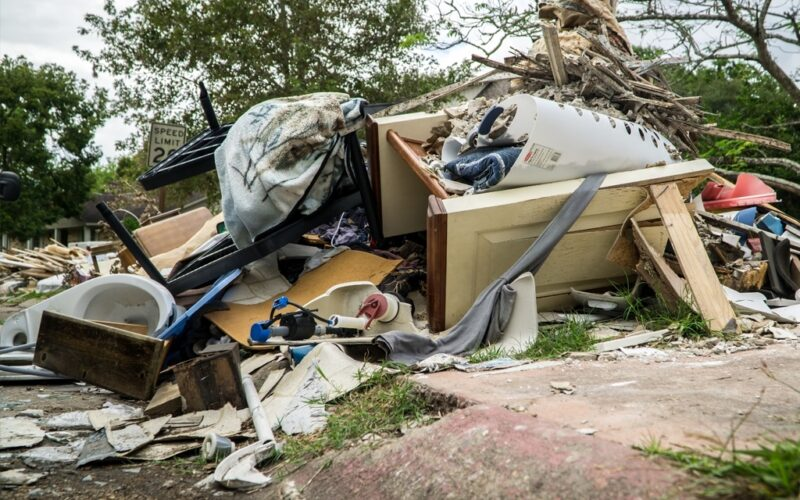 Hurricane Harvey powerful winds cause catastrophic damages across the Huston region