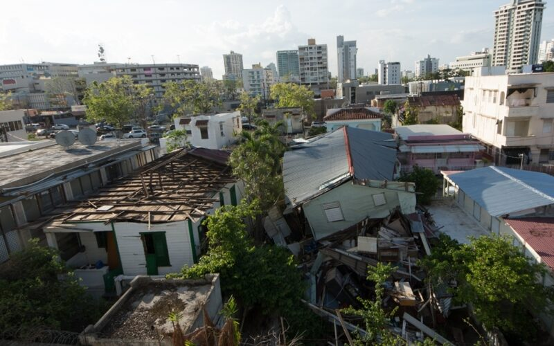 Hurricane Maria causes catastrophic damage across Puerto Rico as residents seek shelter