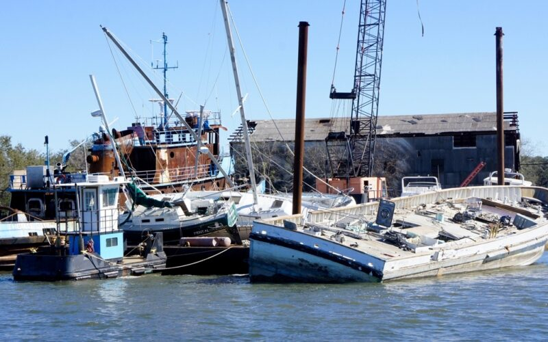 Hurricane Matthew winds cripple local boats and the costs as the storm makes landfall